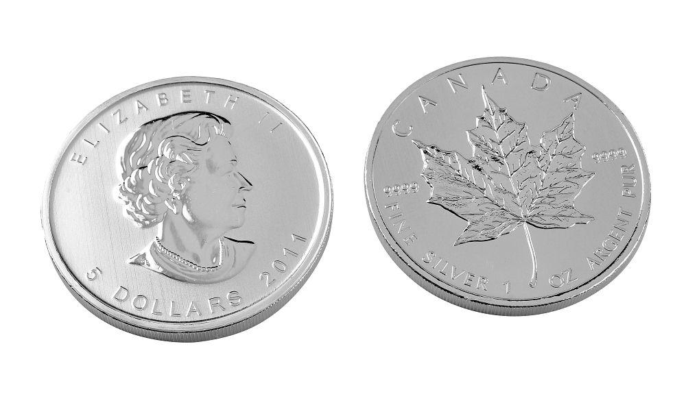 1oz Fine Silver Maple Coin