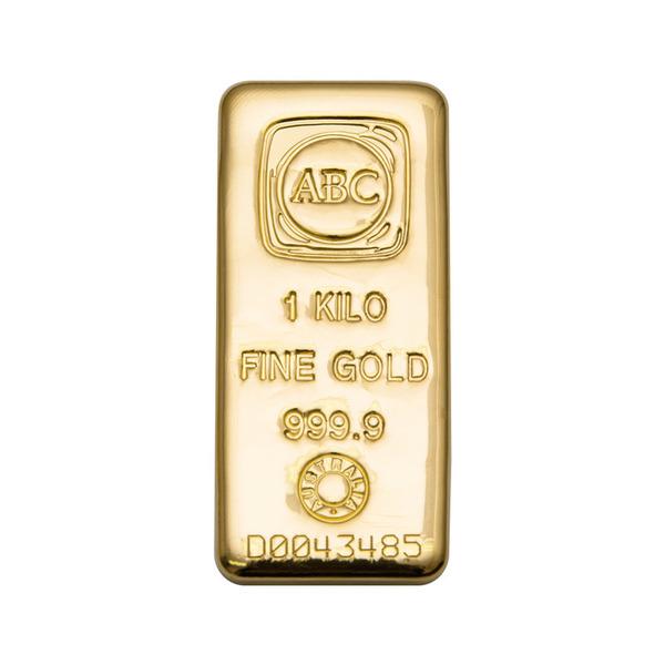 1000g ABC Bullion Cast Bar Gold