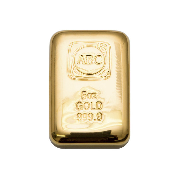 5oz ABC Bullion Cast Bar Gold