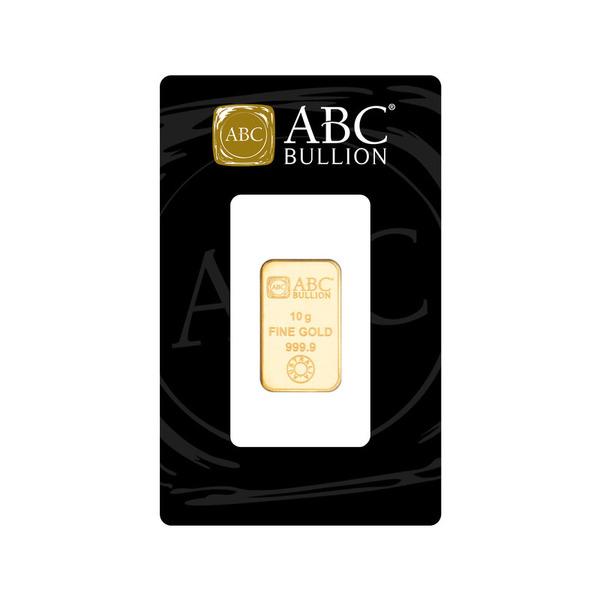 10g ABC Bullion  Minted Bar Gold