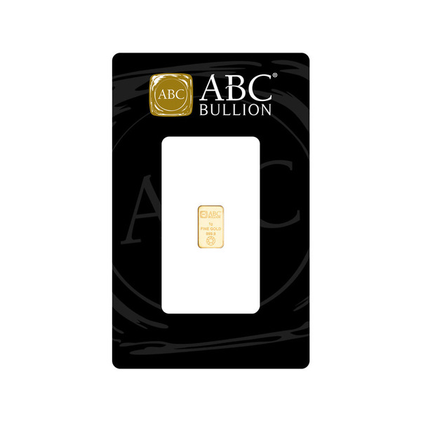 1g  ABC Gold Minted Tablet 999.9