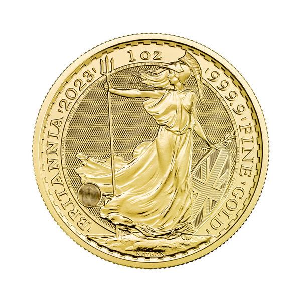 1oz The Royal Mint Britannia Coin Gold 99.99%