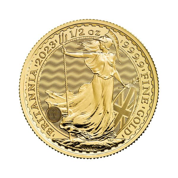 1/2oz Royal Mint Britannia Coin Gold