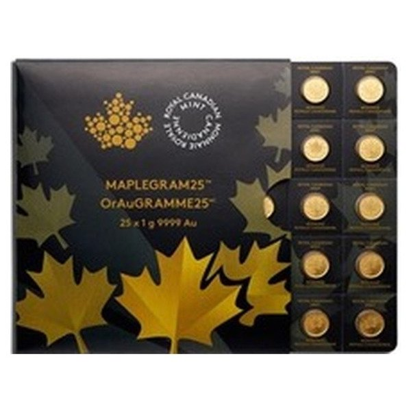 25g Canadian Maple Multipack in 1 gram increments
