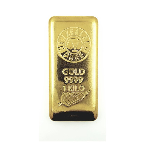 1000g NZ Pure Gold Cast Bar