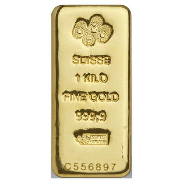 1000g PAMP Cast Bar Gold