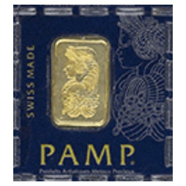 1g  PAMP Single Bar Gold