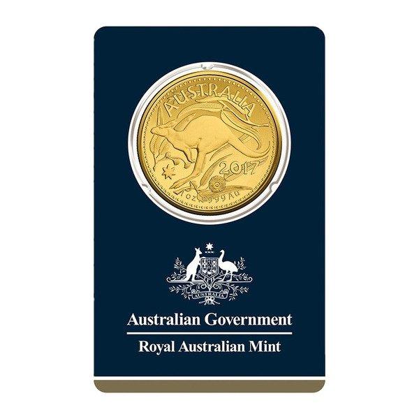 Royal Australian Mint 1 Ounce Gold Kangaroo 99.99% Pure