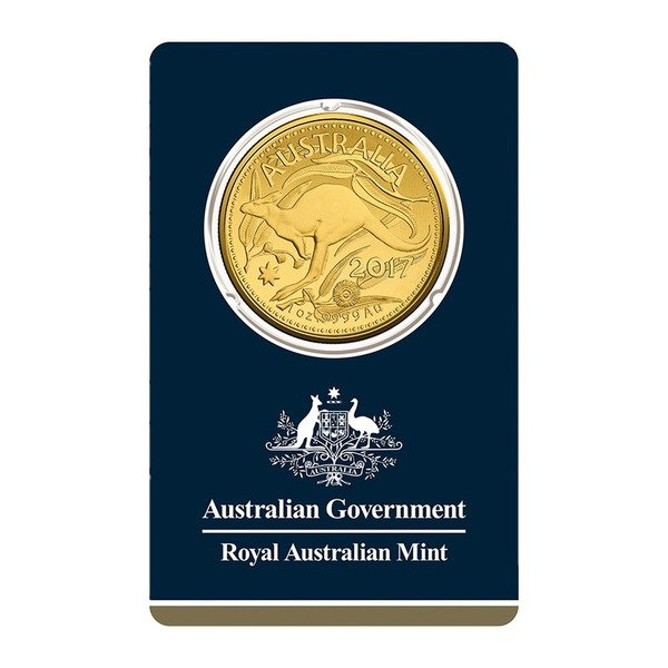 1oz Royal Australian Mint Gold Kangaroo 2020