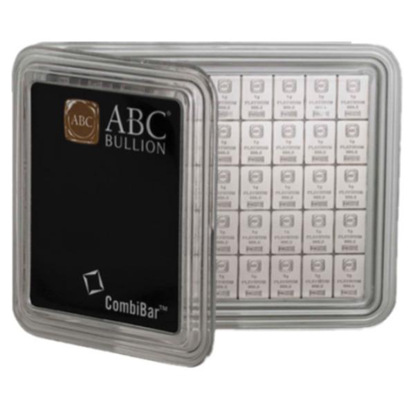50/1g ABC Bullion Multipack Platinum