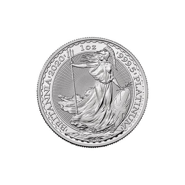 The Royal Mint Britannia 1oz Fine Platinum Coin 999.5