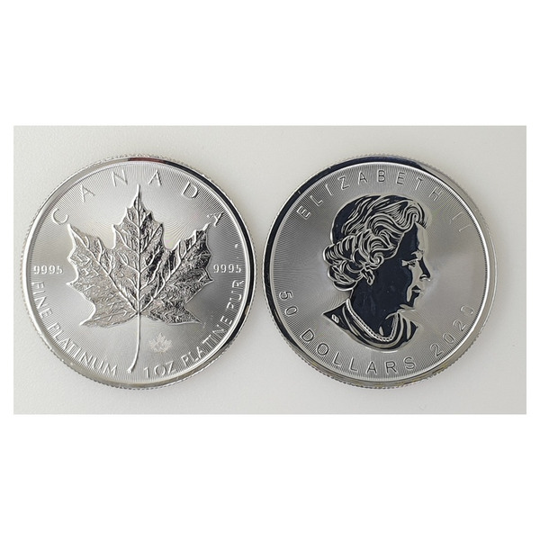 Royal Canadian Mint 1 oz Platinum Maple coin 99.99 %