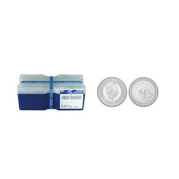Perth Mint Silver Kangaroo 99.99% Pure Monster Box 250 Coins