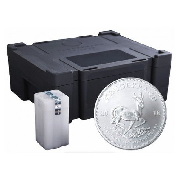 Silver Krugerrand Monster Box Containing 500 x 1oz Silver 999 coins