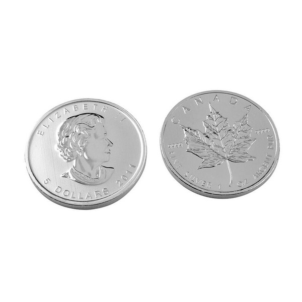 Royal Canadian Mint Silver Maples 1oz 999.9